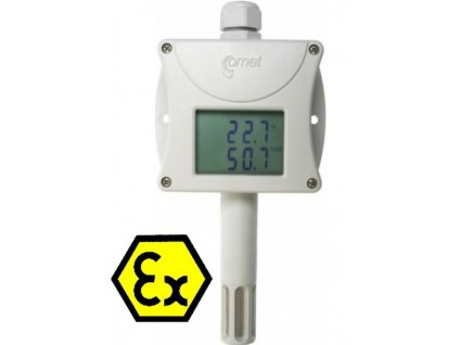 T3110Ex Jiskrově bezpečný snímač teploty a vlhkosti s výstupem 4-20mA