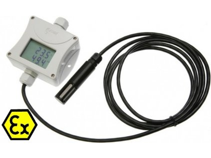 T3111Ex - Jiskrově bezpečný snímač teploty a vlhkosti s výstupem 4-20mA