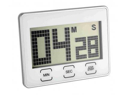 Digitální časovač - timer se stopkami TFA 38.2027