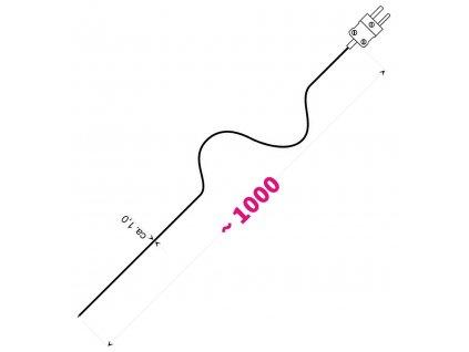 Drátové teplotní čidlo Greisinger GTF 300 GS