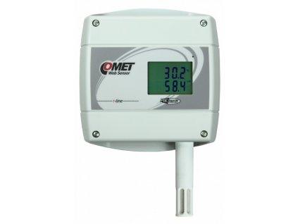 Web Sensor T7610 s PoE - snímač teploty, vlhkosti a barometrického tlaku s výstupem Ethernet