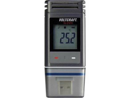 Voltcraft DL-210TH | USB Datalogger pro měření teploty a vlhkosti | displej | PDF výstup