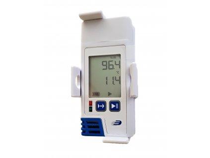 TFA 31.1058.02; LOG210; USB Datalogger s displejem pro měření teploty, vlhkosti, PDF výstup