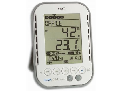 USB datalogger vlhkosti a teploty TFA 30.3039.IT