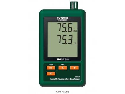 Datalogger teploty a vlhkosti, SD500
