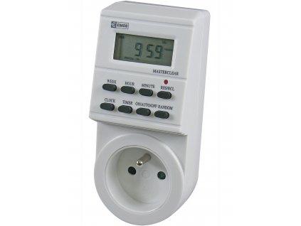 Časovač - digitální spínací zásuvka Emos TS-EF1