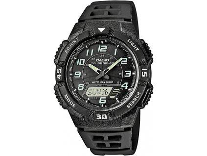 Analogové hodinky Casio AQ-S800W-1BVEF černé