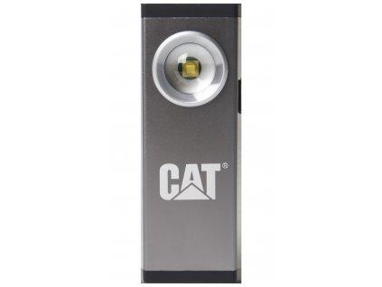LED svítilna Cat Silver CT5115; nabíjecí; micro USB; 200 lm, až 6 hod. světla