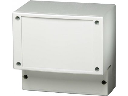 Skříň regulátoru Fibox PC 17/16-CFC, (š x v x h) 160 x 166 x 117 mm, šedá (PC 17/16-FC3)