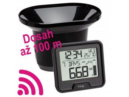 Digitální srážkoměr DROP TFA 47.3005.01 | dosah až  100 m