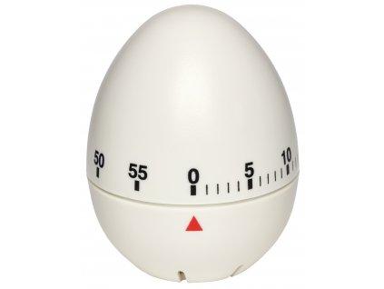 Kuchyňská minutka - vajíčko TFA 38.1002; bílá