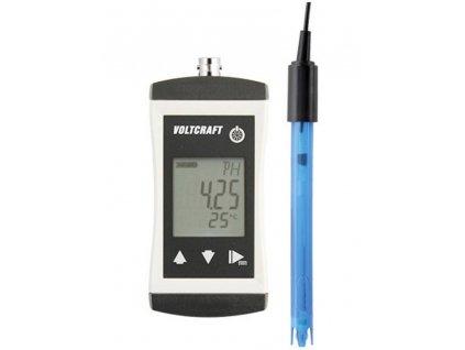 Precizní pH metr VOLTCRAFT PH-410, kalibrováno dle podnikového standardu (s certifikátem)