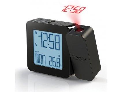 Digitální budík s projekcí času RM338PBK PROJI - černá