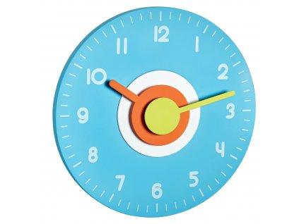 Nástěnné hodiny modré TFA 60.3015.06 POLO