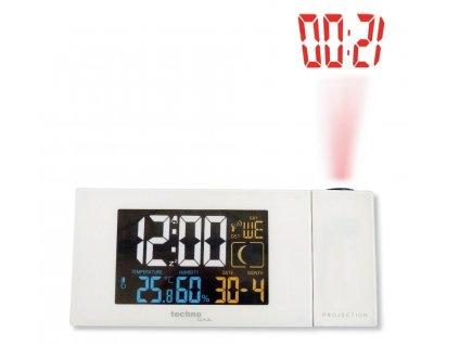 Digitální budík s projekcí a měřením vnitřní teploty a vlhkosti - WT 537