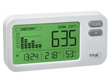 Indikátor CO2 TFA 31.5009.02 AirCO2ntrol Coach