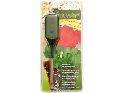 Detektor stavu půdy Stelzner Fertometer; detekuje potřeby hnojení květináčových rostlin