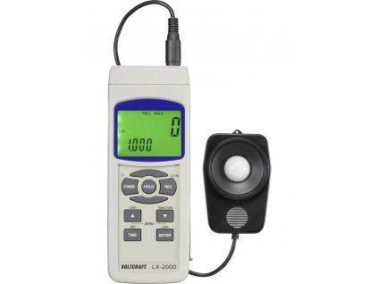 Digitální LUXmetr VOLTCRAFT LX-2000, VC-8330300, datalogger