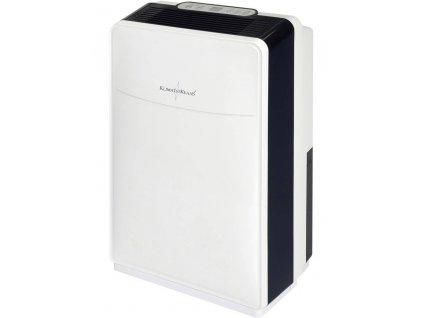 Odvlhčovač vzduchu Klima1stKlaas 7007, 40 m², 480 W, 0.8 l/h, bílá, černá