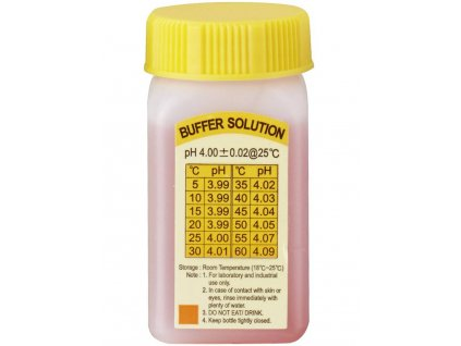 Kalibrační roztok pH 4.0, VOLTCRAFT CR-04, 50 ml