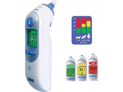 Lékařský infračervený teploměr Braun IRT 6520 ThermoScan® 7