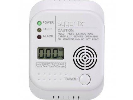 Detektor úniku oxidu uhelnatého (CO) Sygonix SY-3394944, na baterii