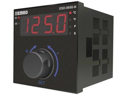 Termostat Emko ESD-9950-N.2.20.0.1/02.00/0.0.0.0, typ senzoru Pt100, S , R , K, J