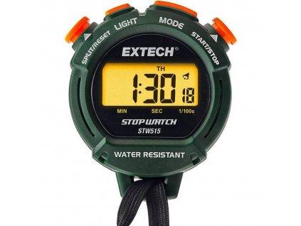 Digitální stopky Extech STW515, podsvícené, voděodolné