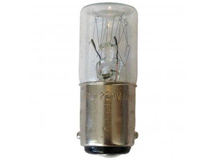 Žárovka 230 V, 5 W , BA15d, pro signalizační systém Werma Signaltechnik, 955.840.38