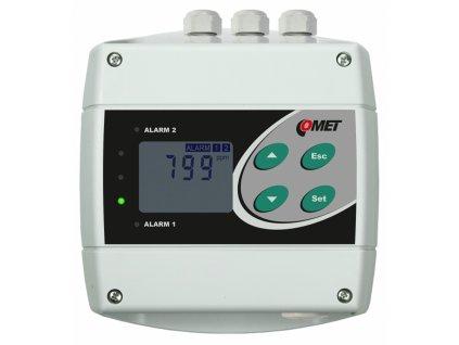 H5024 | Snímač a regulátor CO2, 2x výstupní relé