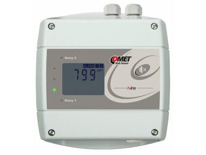 H5524 | Snímač CO2 s výstupem Ethernet a dvěma relé
