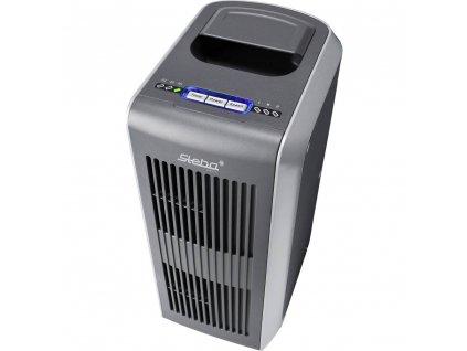 Ultrazvuková čistička vzduchu Steba Germany LR 11 36-21-00, 25 m², 36 W, stříbrná