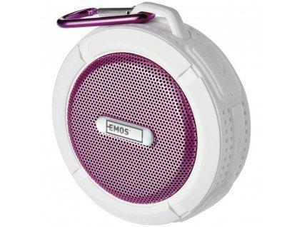 Bluetooth reproduktor EMOS FREESTYLER E0073, 5W, růžová