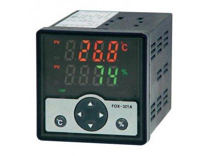 Digitální regulátor vlhkosti a teploty s čidlem FOX 301