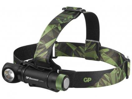 GP Discovery CHR35 | nabíjecí LED čelovka a pracovní svítilna v jednom, 600 lm | P8555