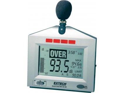 Digitální hlukoměr EXTECH SL-130, kalibrováno dle ISO