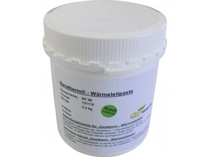 Teplovodivá pasta Keratherm Kerafol KP98; 6W/mK; -60 až +150°C; 500 g (228 ml)
