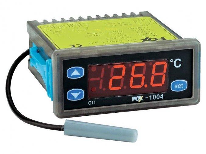 Digitální termostat -40 až +90 C, 2x relé, FOX D1004