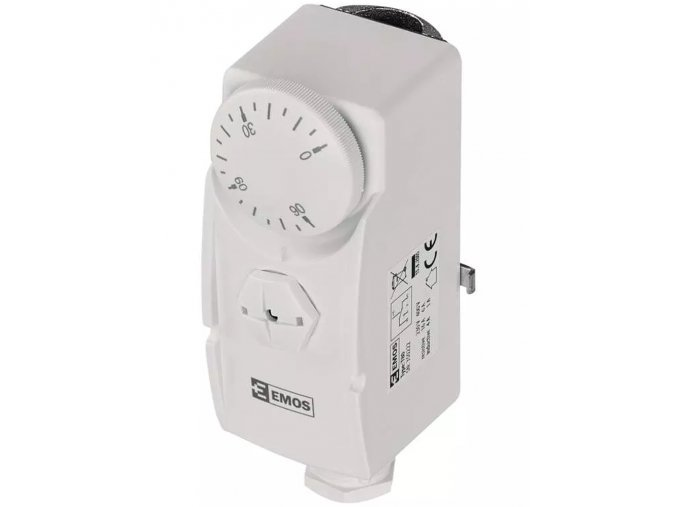 Příložný termostat T80   P5681   teplotní rozsah 0 až 90°C