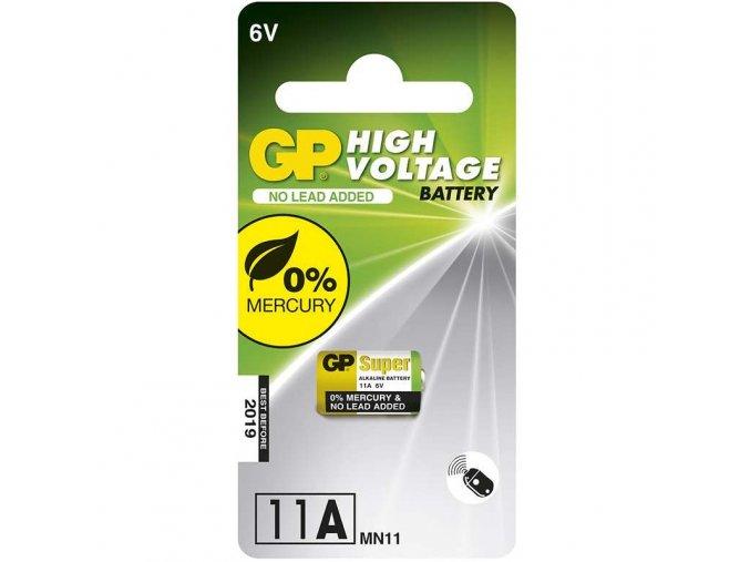 Alkalická speciální baterie GP 11AF, blistr