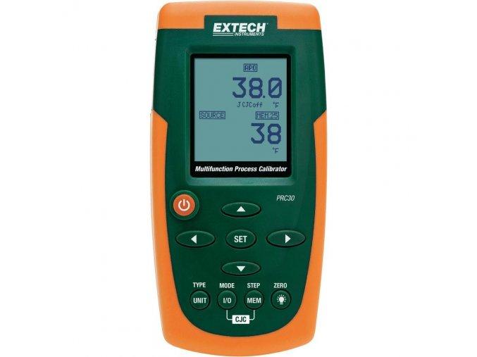 Multifunkční kalibrátor pro měření proudu, napětí a termočlánků Extech PRC30