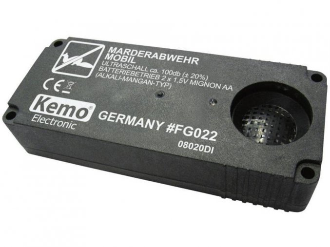 Přenosný odpuzovač kun Kemo FG022