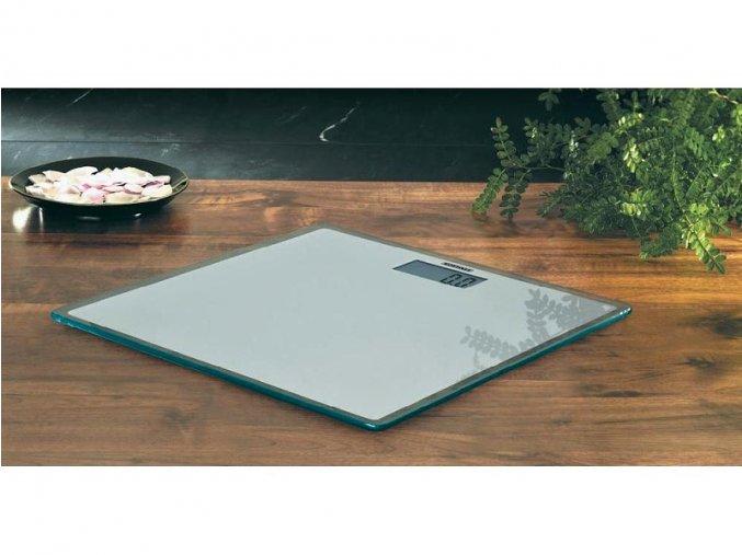 Digitální osobní váha - skleněná, tenká 18 mm