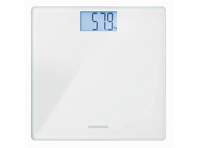 Osobní váha Grundig PS 2010, GMK1200, do 180 kg, bílá