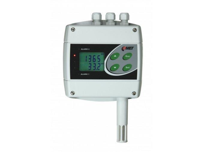 H6020 snímač a regulátor teploty, vlhkosti a CO2