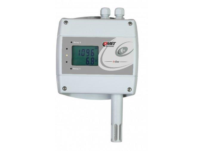 H6520 - snímač teploty, vlhkosti a CO2 s výstupem Ethernet a dvěma relé