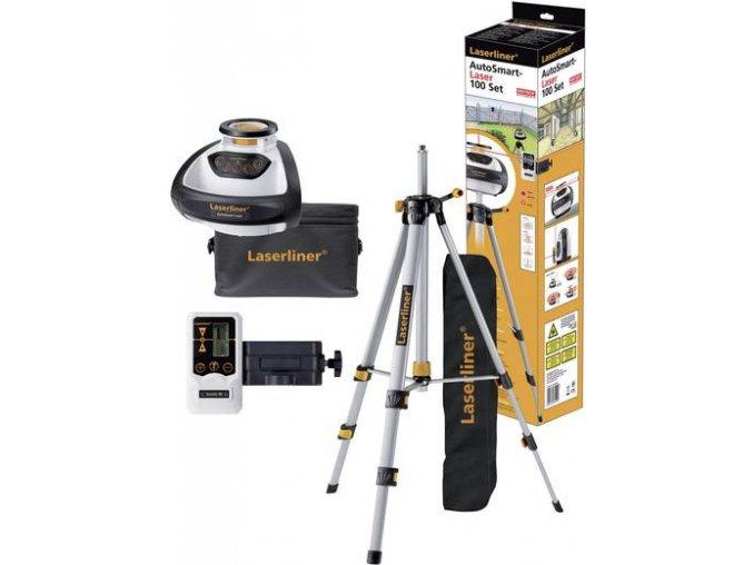 Rotační laser AutoSmart-Laser 100, Laserliner 055.04.00A