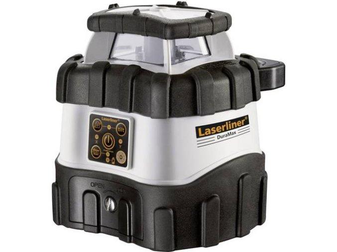 Samonivelační rotační laser Laserliner DuraMax XPro 410 S vč. laserového přijímače, dosah (max.): 400 m
