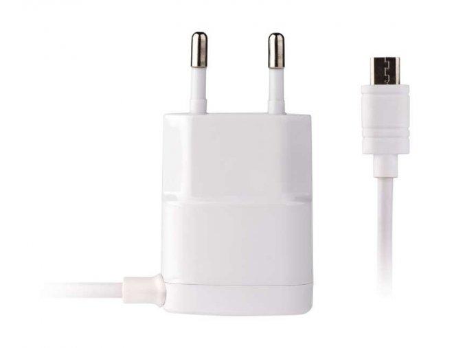 Univerzální USB adaptér do sítě 1A (5W) max., Micro USB, kabel 1,5 m