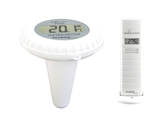 Teplotní/vlhkostní senzor do bazénu Techno Line Mobile Alerts MA 10700
